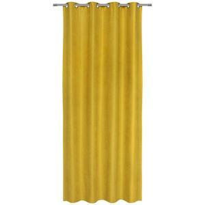 Záves S Krúžkami Nizza, 140/245cm, Žltá vyobraziť