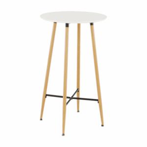 Barový stôl IMAM Tempo Kondela Biela vyobraziť