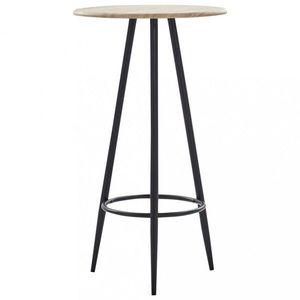 Barový stôl Ø 60cm Dekorhome Dub vyobraziť