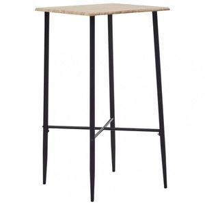Barový stôl 60x60cm Dekorhome Dub vyobraziť