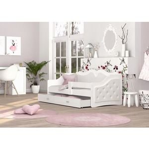 ArtAJ Detská posteľ LILI K | Trinity 160 x 80 cm Farba: Biela vyobraziť