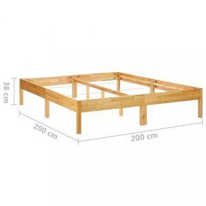 Posteľ masívne drevo Dekorhome 200x200 cm vyobraziť