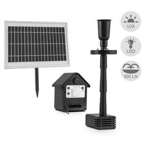 Blumfeldt Wasserwerk 500, vodné čerpadlo, solárne, fontána, 500 l/h, LED, akumulátor vyobraziť