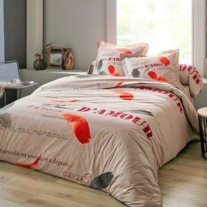 Bavlnená posteľná bielizeň Grace korenená 240x300cm vyobraziť