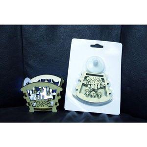 Dekoračný svietnik s LED čajovou sviečkou vyobraziť