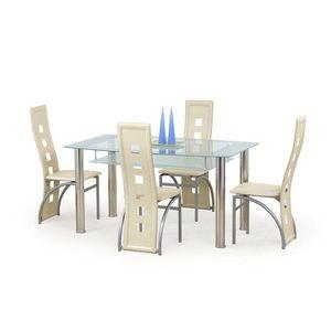 Jedálenské stoly sklenené vyobraziť