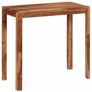 Barový stôl hnedá Dekorhome 115x55x107 cm vyobraziť