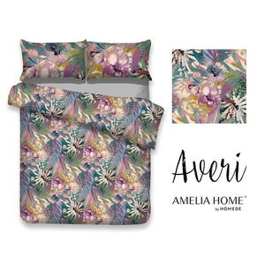 Bavlněné povlečení Averi Hawaii barevné vyobraziť