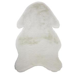 umelá kožušina Marlene, 90/60cm, Biela vyobraziť