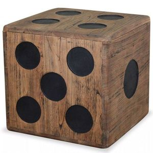 Úložný box drevo Dekorhome vyobraziť
