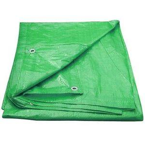 M.A.T. plachta zakrývací s oky 100g/m² 4x6m zelená vyobraziť
