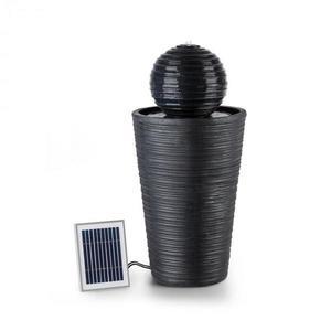 Blumfeldt Liquitorre, solárna fontána, 200 l/h, solárny panel, 2 W, akumulátor, LED, polyresin vyobraziť
