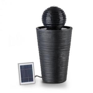 Blumfeldt Liquitorre XL, solárna fontána, 200 l/h, solárny panel, 2 W, akumulátor, LED, polyresin vyobraziť