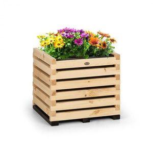 Blumfeldt Modu Grow 50, vyvýšený záhon, 50 x 45 x 50 cm, borovicové drevo, borovica vyobraziť