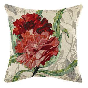 Boma Trading Obliečka na vankúšik Ruže červená, 45 x 45 cm vyobraziť