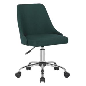 Kancelárska stolička EDIZ Tempo Kondela Smaragdová vyobraziť