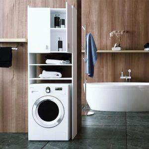 TEMPO KONDELA NATALI skrinka na práčku - biela vyobraziť