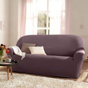 Poťah na kreslo alebo pohovku purpurová pohovka 3miestna vyobraziť