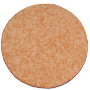 Guľatý koberec SERENADE Graib oranžový vyobraziť