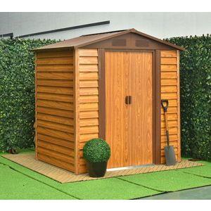 Záhradný domček 193 x 152 cm kovový Dekorhome vyobraziť