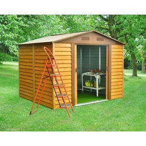 Záhradný domček 321 x 366 cm kovový Dekorhome vyobraziť