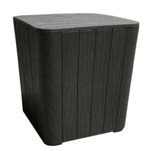 Záhradný stolík / úložný box IBLIS Tempo Kondela Čierna vyobraziť