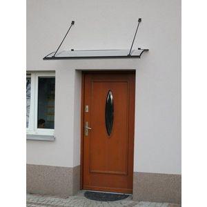 Strieška nad dvere 140/85 Dekorhome Antracit vyobraziť