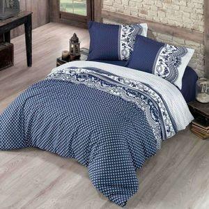 Kvalitex Bavlnené obliečky Canzone modrá vyobraziť
