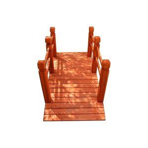 Drevený záhradný mostík Garth vyobraziť
