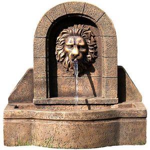 Záhradná fontána - fontána levia hlava 50 x 54 x 29 cm vyobraziť