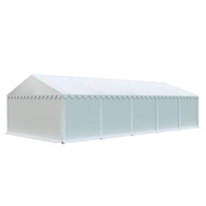 Skladový stan 5x10m EKONOMY Biela vyobraziť