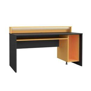 Herný stôl Tezaur Oranžová/čierna Tezaur Š: 160cm vyobraziť