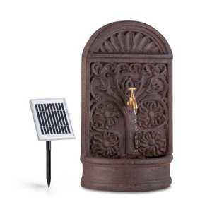 Blumfeldt Blumquell, solárna fontána, LED, 5m, kábel, syntetický kameň, solárny panel vyobraziť