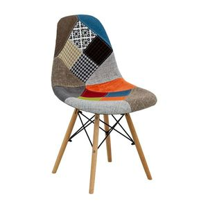 Jedálenská stolička UNO patchwork farebná vyobraziť