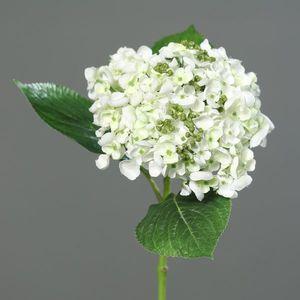 Umelá hortenzia biela, 44 cm vyobraziť