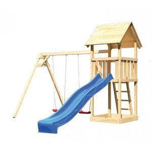 Detské vonkajšie ihrisko Dekorhome Modrá vyobraziť