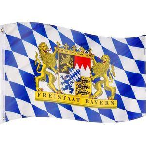 Vlajka Bavorsko - 120 cm x 80 cm vyobraziť