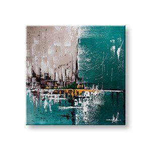 Maľovaný obraz na stenu ABSTRAKT 1 dielny YOBFB554E1 (maľované obrazy FABIO) vyobraziť