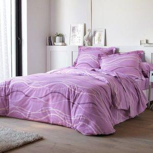 Posteľná bielizeň Vlnky, bavlna zn. Colo lila obliečka na vank. 65x65cm+lem vyobraziť