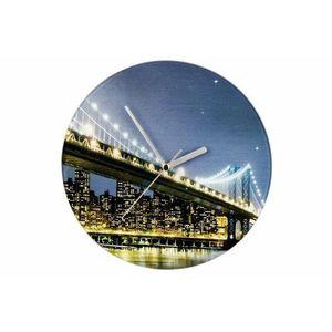 Nástenné hodiny WENKO 27 cm - Brooklyn Bridge vyobraziť