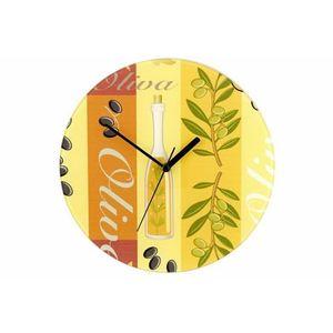 Nástenné hodiny WENKO 27 cm - oliva vyobraziť