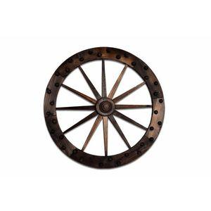 Dekoratívne drevené koleso vyobraziť