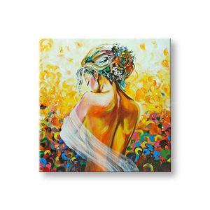 Ručne maľovaný obraz DeLUXE - ŽENA 1 dielny 084D1 vyobraziť