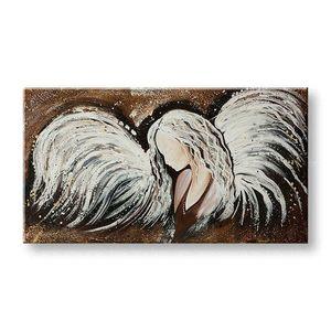 Ručne maľovaný obraz na stenu ANJEL YOBFB533E1 vyobraziť