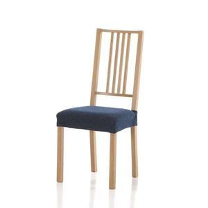 Forbyt, Poťah elastický na sedák stoličky, Petra komplet 2 ks, modrá vyobraziť