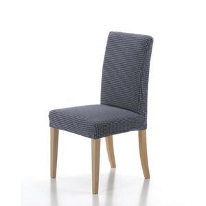 Poťah elastický na celú stoličku, komplet 2 ks SADA, modrý vyobraziť