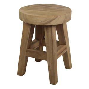 Stolička z dreva mungur HSM collection Bubble, 36 × 48 cm vyobraziť