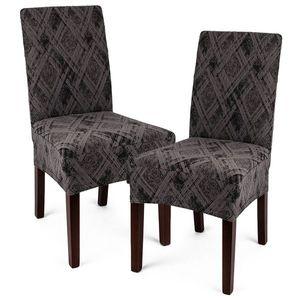 4Home Multielastický poťah na stoličku Comfort Plus sivá , 40 - 50 cm, sada 2 ks vyobraziť
