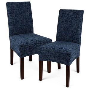 4Home Multielastický poťah na stoličku Comfort Plus modrá, 40 - 50 cm, sada 2 ks vyobraziť