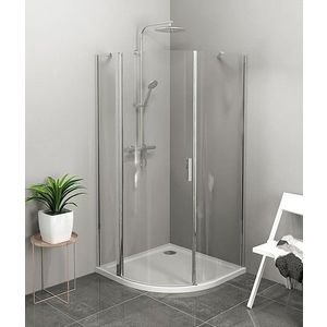POLYSAN - ZOOM LINE štvrťkruhová sprchová zástena 900x900mm, číre sklo, ľavá ZL2615L vyobraziť